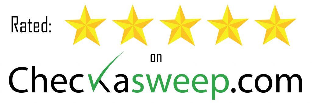 Rated 5 Stars on Checkasweep.com